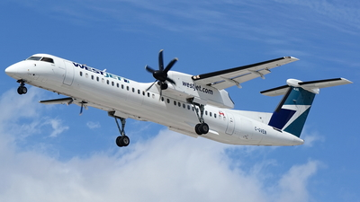 C-GVEN - Bombardier Dash 8-Q402 - WestJet Encore