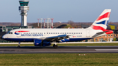 A picture of GEUPC - Airbus A319131 - British Airways - © Andre Bonn