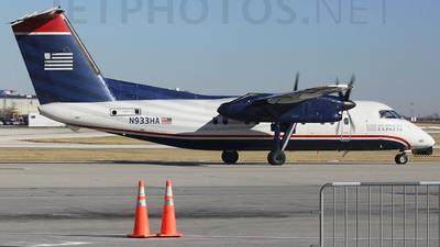 A picture of N933HA - De Havilland Canada Dash 8100 - [134] - © Orlando Suarez
