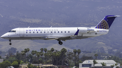 A picture of N479CA - Mitsubishi CRJ200LR - United Airlines - © Nathaniel Schott