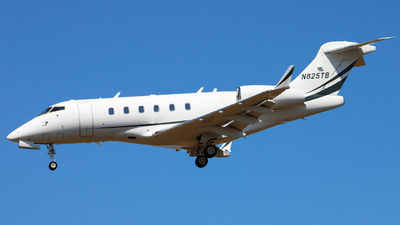 N825TB - Bombardier BD-100-1A10 Challenger 300 - Private