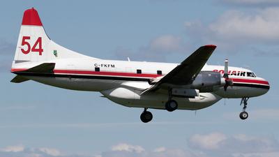 A picture of CFKFM - Convair CV580 - Conair - © Mike MacKinnon