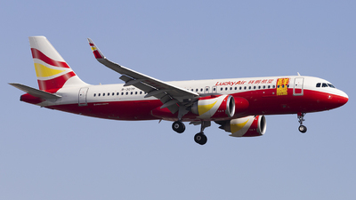 B-307P - Airbus A320-251N - Lucky Air