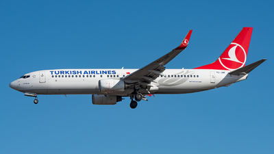 TC-JHF - Boeing 737-8F2 - Turkish Airlines