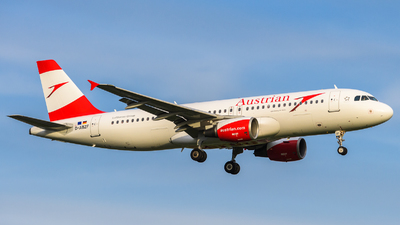 D-ABZF - Airbus A320-216 - Austrian Airlines
