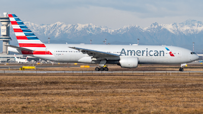 N760AN - Boeing 777-223(ER) - American Airlines
