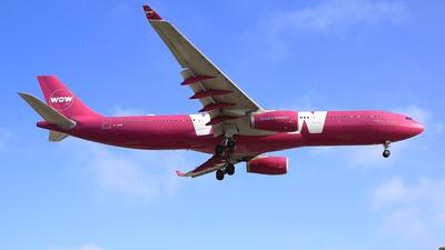 TF-WOW - Airbus A330-343 - WOW Air