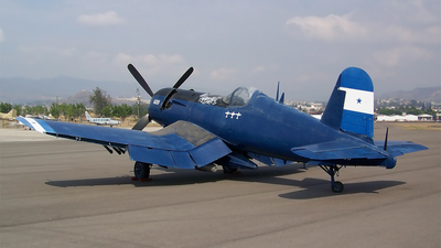 FAH-609 - Vought F4U-5 Corsair - Honduras - Air Force