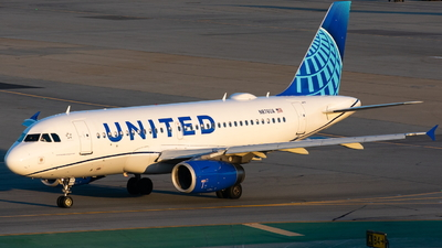 N876UA - Airbus A319-132 - United Airlines