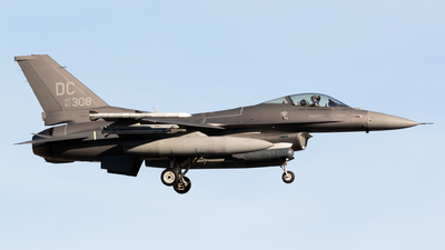 87-0308 - Lockheed Martin F-16C Fighting Falcon - United States - US Air Force (USAF)