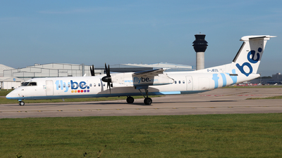 A picture of GJECL - De Havilland Canada Dash 8400 - Flybe - © Dave Potter