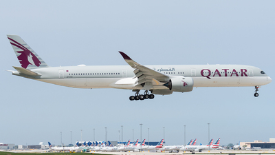 A7-ANJ - Airbus A350-1041 - Qatar Airways
