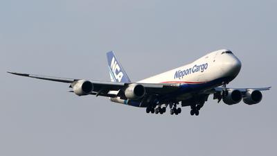 JA11KZ - Boeing 747-8KZF - Nippon Cargo Airlines (NCA)