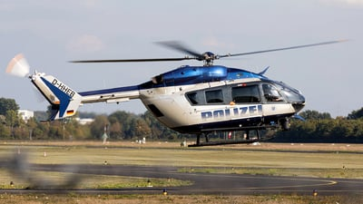 D-HHEB - Eurocopter EC 145 - Germany - Police