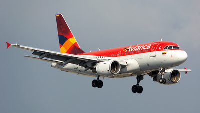 N595EL - Airbus A318-111 - Avianca