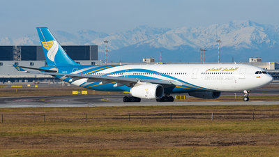 A picture of A4ODI - Airbus A330343 - Oman Air - © Luca Cesati