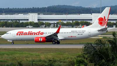 9M-LNR - Boeing 737-8GP - Malindo Air