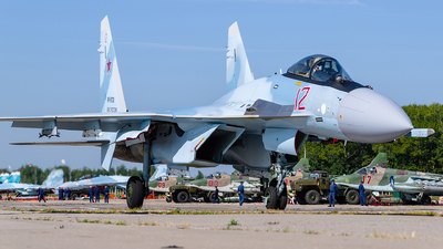 RF-81731 - Sukhoi Su-35S - Russia - Air Force
