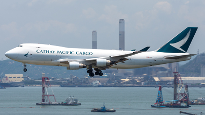 B-LIE - Boeing 747-467ERF - Cathay Pacific Cargo