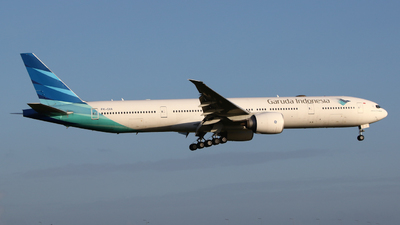 A picture of PKGIA - Boeing 7773U3(ER) - Garuda Indonesia - © Mark de Bruijn