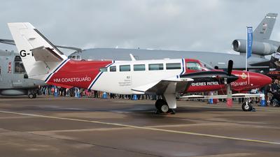 G-TURF - Reims-Cessna F406 Caravan II - United Kingdom - Coast Guard