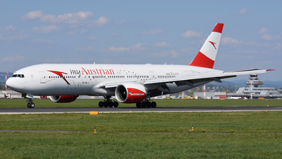 A picture of OELPD - Boeing 7772Z9(ER) - Austrian Airlines - © Martin Nimmervoll
