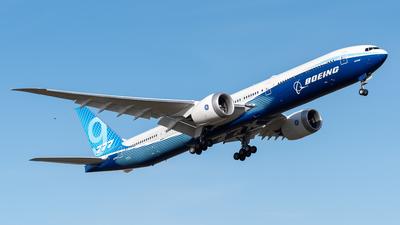 N779XX - Boeing 777-9 - Boeing Company