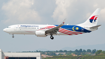 A picture of 9MMXS - Boeing 7378H6 - Malaysia Airlines - © syafiqkuzairy