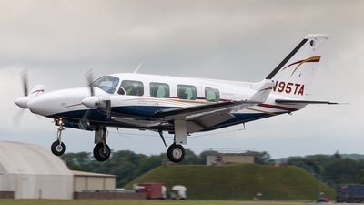 A picture of N95TA - Piper PA31310 - [317300971] - © Lutz Herzog
