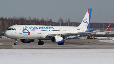 A picture of VPBSW - Airbus A321231 - Ural Airlines - © Airyura