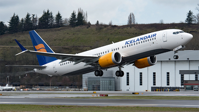 TF-ICE - Boeing 737-8 MAX - Icelandair