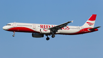 VP-BRM - Airbus A321-231 - Red Wings