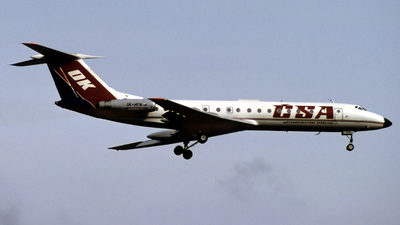 OK-HFM - Tupolev Tu-134A - CSA Ceskoslovenske Aerolinie