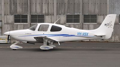 A picture of VHVSX - Cirrus SR20 - [1580] - © George Canciani