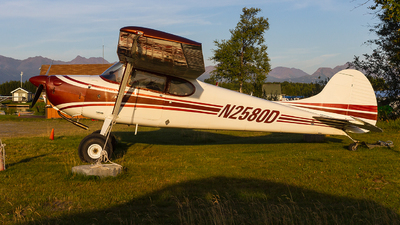 N2580D - Cessna 170B - Private