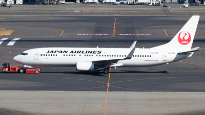 A picture of JA320J - Boeing 737846 - Japan Airlines - © H.Hayashi
