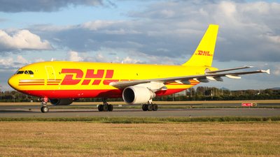 A picture of EIOZL - Airbus A300B4622R(F) - DHL - © Conor McGeehan