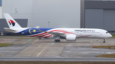 F-WZHE - Airbus A350-941 - Malaysia Airlines