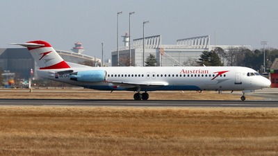 OE-LVE - Fokker 100 - Austrian Airlines