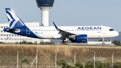 A picture of SXNEO - Airbus A320271N - Aegean Airlines - © Chris Tsiakos