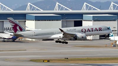 A7-ALE - Airbus A350-941 - Qatar Airways