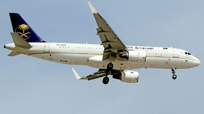 HZ-AS58 - Airbus A320-214 - Saudi Arabian Airlines