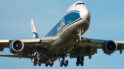 A picture of VPBBP - Boeing 7478HV(F) - AirBridgeCargo Airlines - © Aleksandr Alekhichev