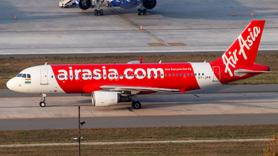 A picture of VTJPR - Airbus A320216 - AirAsia - © Sandeep Pilania