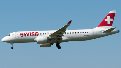 A picture of HBJCM - Airbus A220300 - Swiss - © Rosser