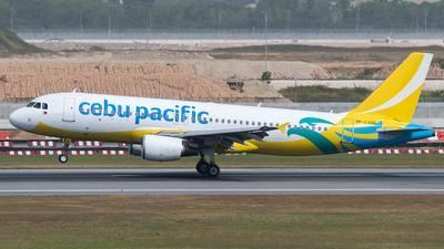 RP-C3261 - Airbus A320-214 - Cebu Pacific Air