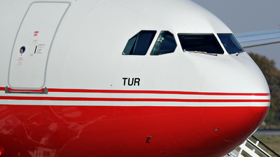 TC-TUR - Airbus A330-243 - Turkey - Government