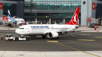TC-LCB - Boeing 737-8 MAX - Turkish Airlines