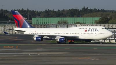 N672US - Boeing 747-451 - Delta Air Lines