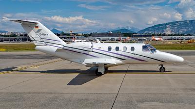 D-IGVA - Cessna 525 CitationJet 1 - Private